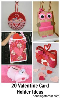 paper plate valentine holder | Created from Bags, Plates ...