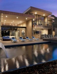 Some fact about custom dream house captivating wide rectangle backyard pool ideas with contemporary also rh pinterest
