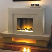 Flamerite Lazio Electric Fireplace Suite   Study ...