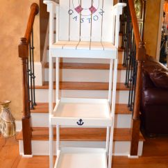 How To Build A Lifeguard Chair Step Stool Folding Shelves For The Boat House Morning Room