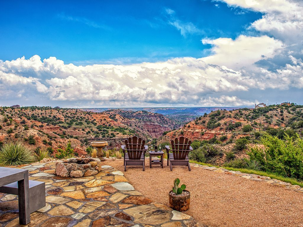 Doves rest cabins fortress new hot tub palo duro