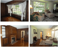 Painted Paneling B&A Photos! | Paint wood paneling, Woods ...