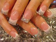 acrylic nail art elegant