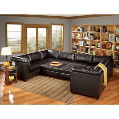 Bernie And Phyls Furniture Sofas Sleeper Sofa Clearance Sale San Marco Chocolate Nine Piece Leather Sectional ...