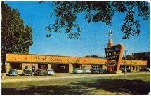 Circa Early 1950' Golden Age Of Holiday Inn
