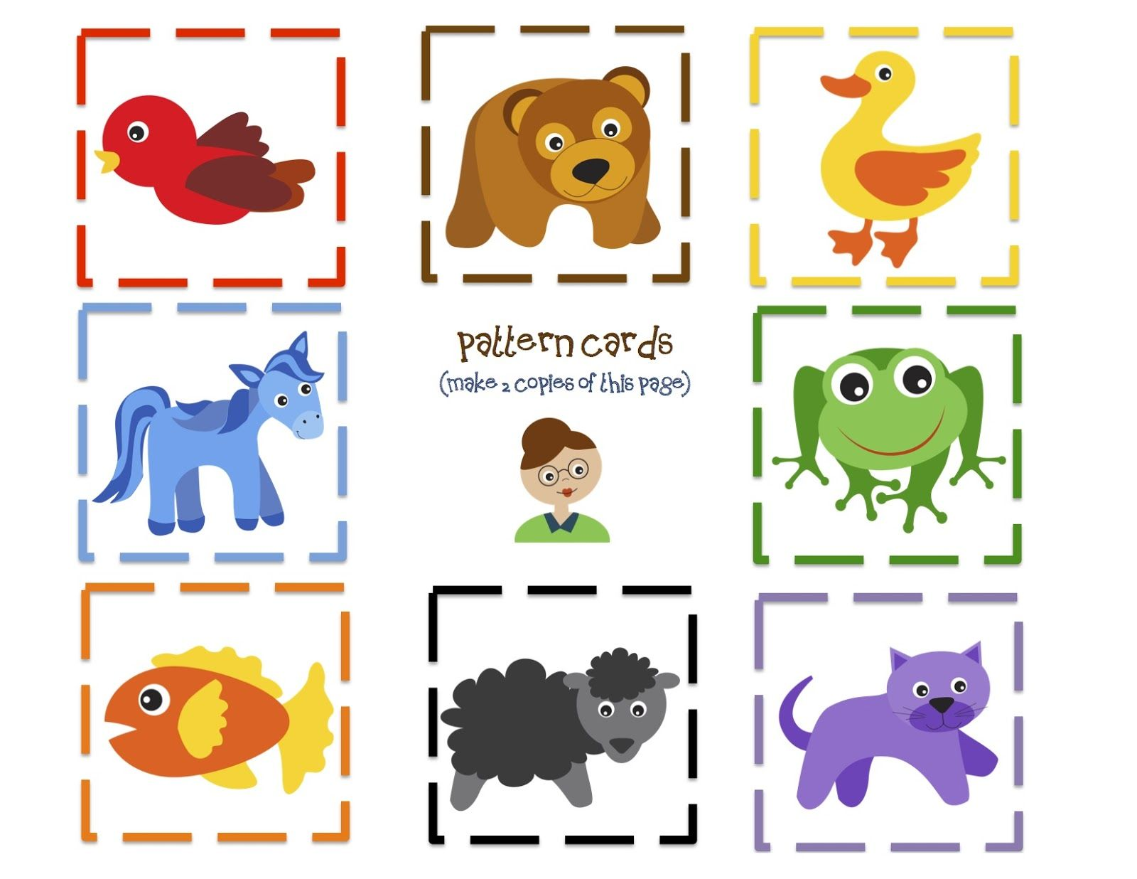 Preschool Printables Brown Bear Fun Printable
