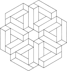 Image result for optical illusion coloring pages free