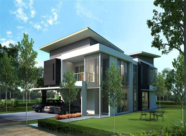 New Bungalow House For Sale At Cypress Residences Double Storey