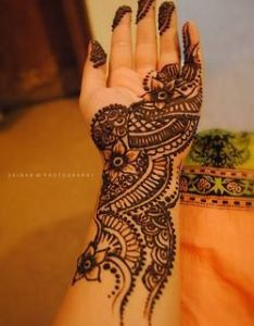 most beautiful indian mehendi designs also arabic cum traditional love it mehndi pinterest rh in