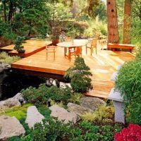 decks over ponds | Deck over pond | OUTSIDE: DECK ...