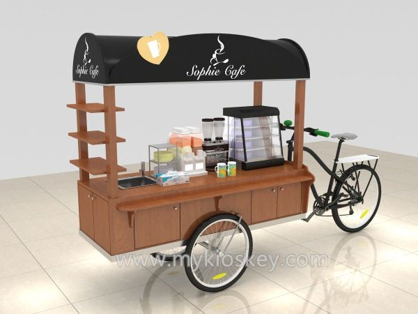 Portable Outdoor Kiosk Carts - Year of Clean Water