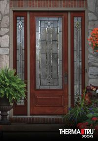 """8'0"""" Therma-Tru Classic-Craft Mahogany Collection ..."""
