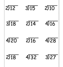 Long Division Practice Worksheets 4th Grade   Printable Worksheets and  Activities for Teachers [ 1989 x 1405 Pixel ]