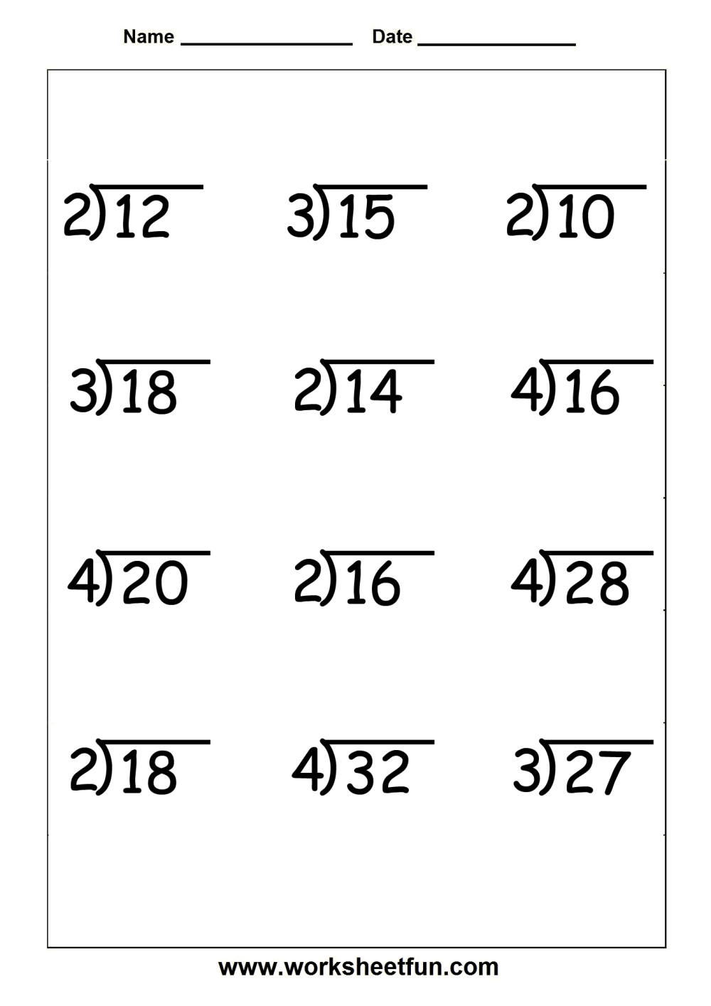 medium resolution of Long Division Practice Worksheets 4th Grade   Printable Worksheets and  Activities for Teachers