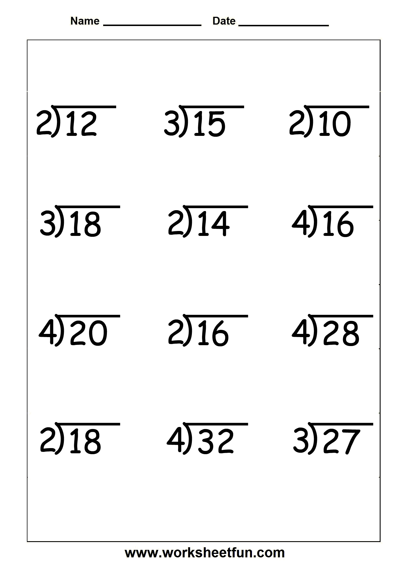 hight resolution of Long Division Practice Worksheets 4th Grade   Printable Worksheets and  Activities for Teachers
