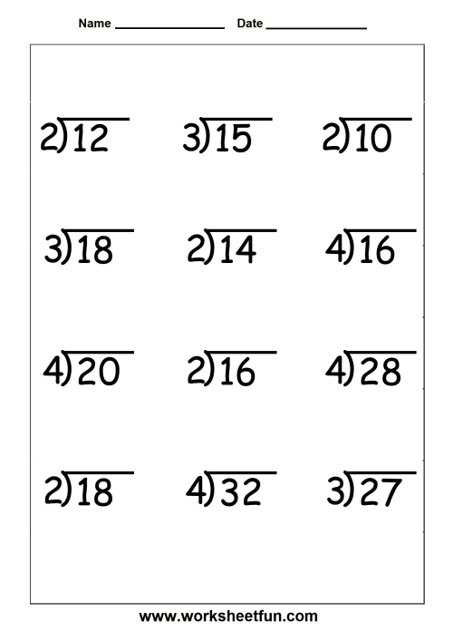 small resolution of Long Division Practice Worksheets 4th Grade   Printable Worksheets and  Activities for Teachers
