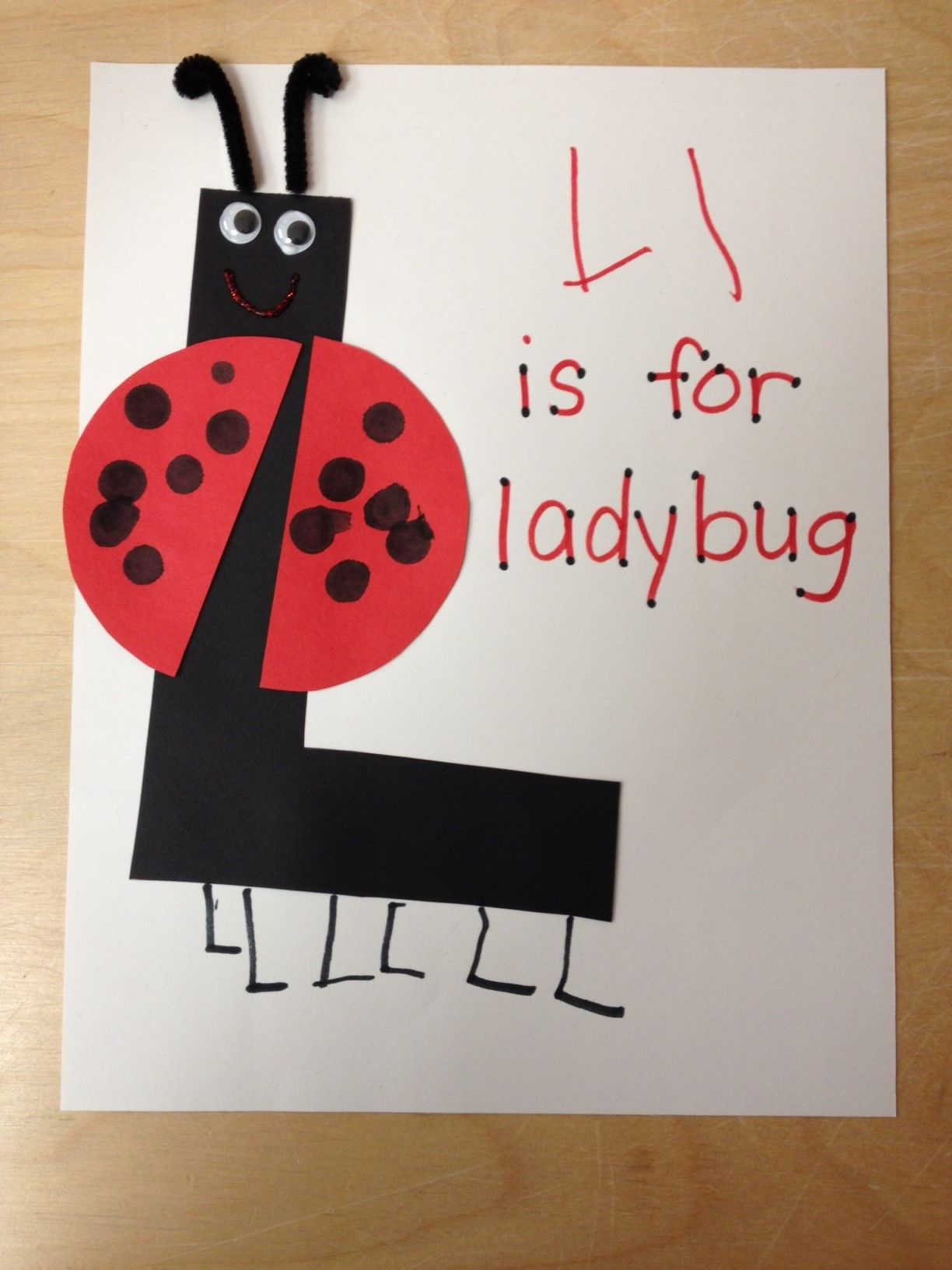 Ll Is For Ladybug