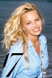 pam anderson updo hairstyles