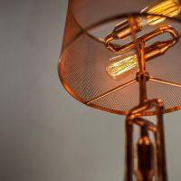 Copper pipe Table Lamp MT50007-in Table Lamps from Lights ...