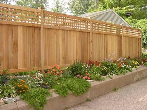Wood Fence Privacy Fence Gates And Fencing The Fence Deck
