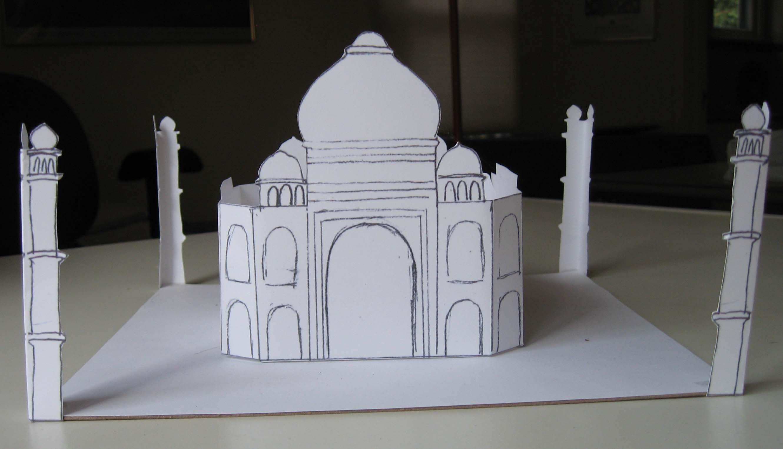 Easy Taj Mahal Printable Craft For Kids Easier Than The 3