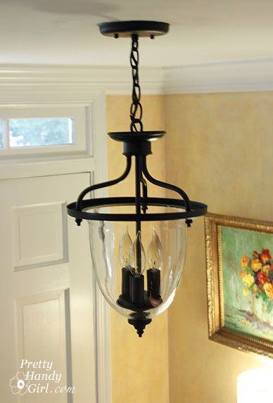 Foyer Lantern Pendant Light