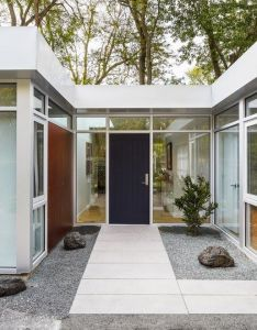 captivating mid century modern entrance designs that simply invite you inside also rh pinterest