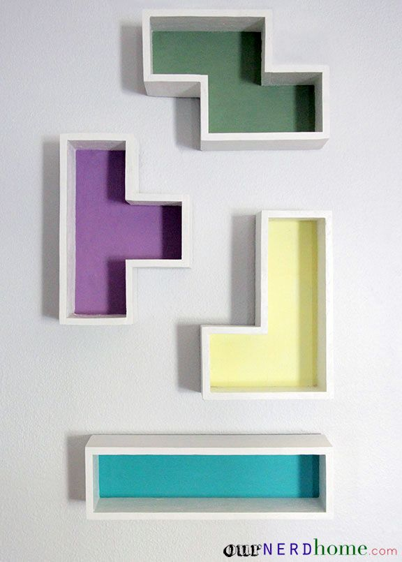 Dress Up Your Walls With These Unique Shelves Them Geek Culture
