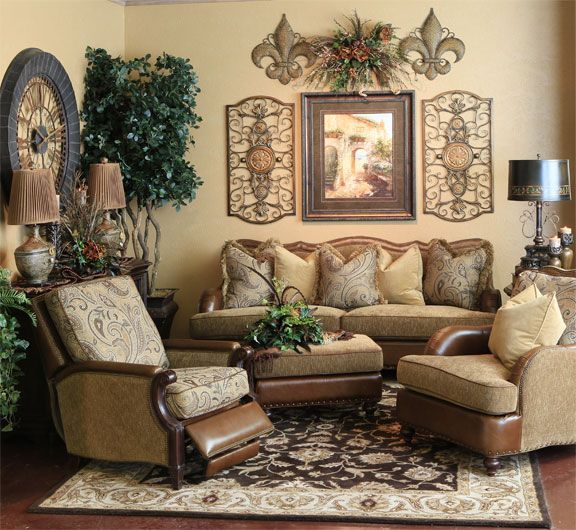 Superieur √ Tuscan Style Living Room Ideas From Ashley Furniture | 20 ...