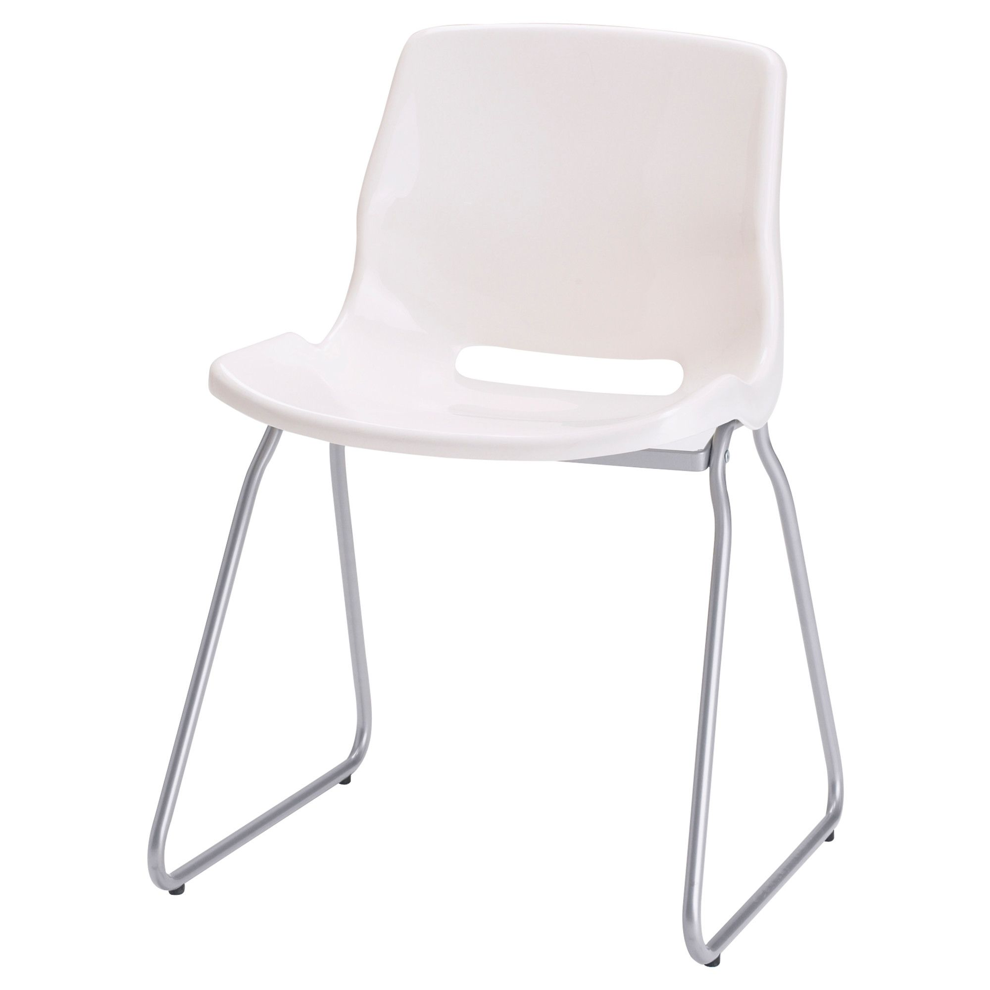ghost chair knock off tables and chairs rentals affordable snille visitor white ikea with chaise