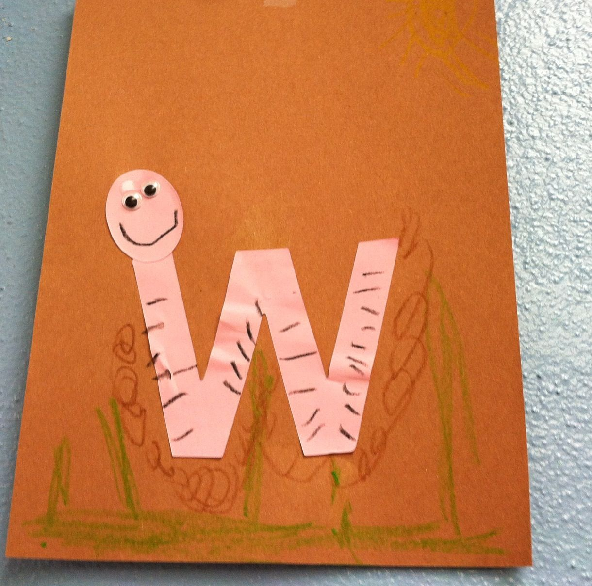 W Is For Worm Craft