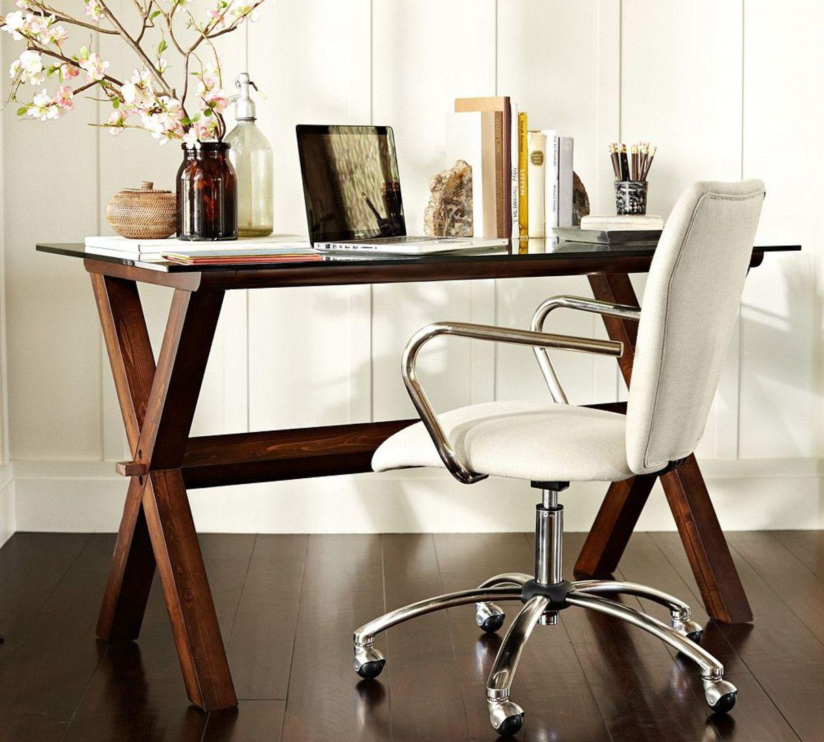 airgo swivel desk chair lounge chairs ava wood espresso stain pottery barn australia