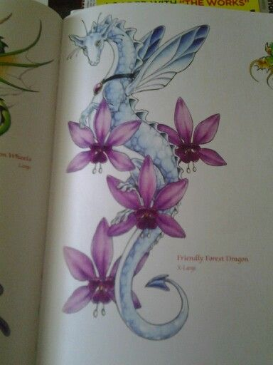 girly dragon tattoo's