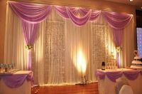 wedding pipe and drape curtains | DIY pipe and drape ...