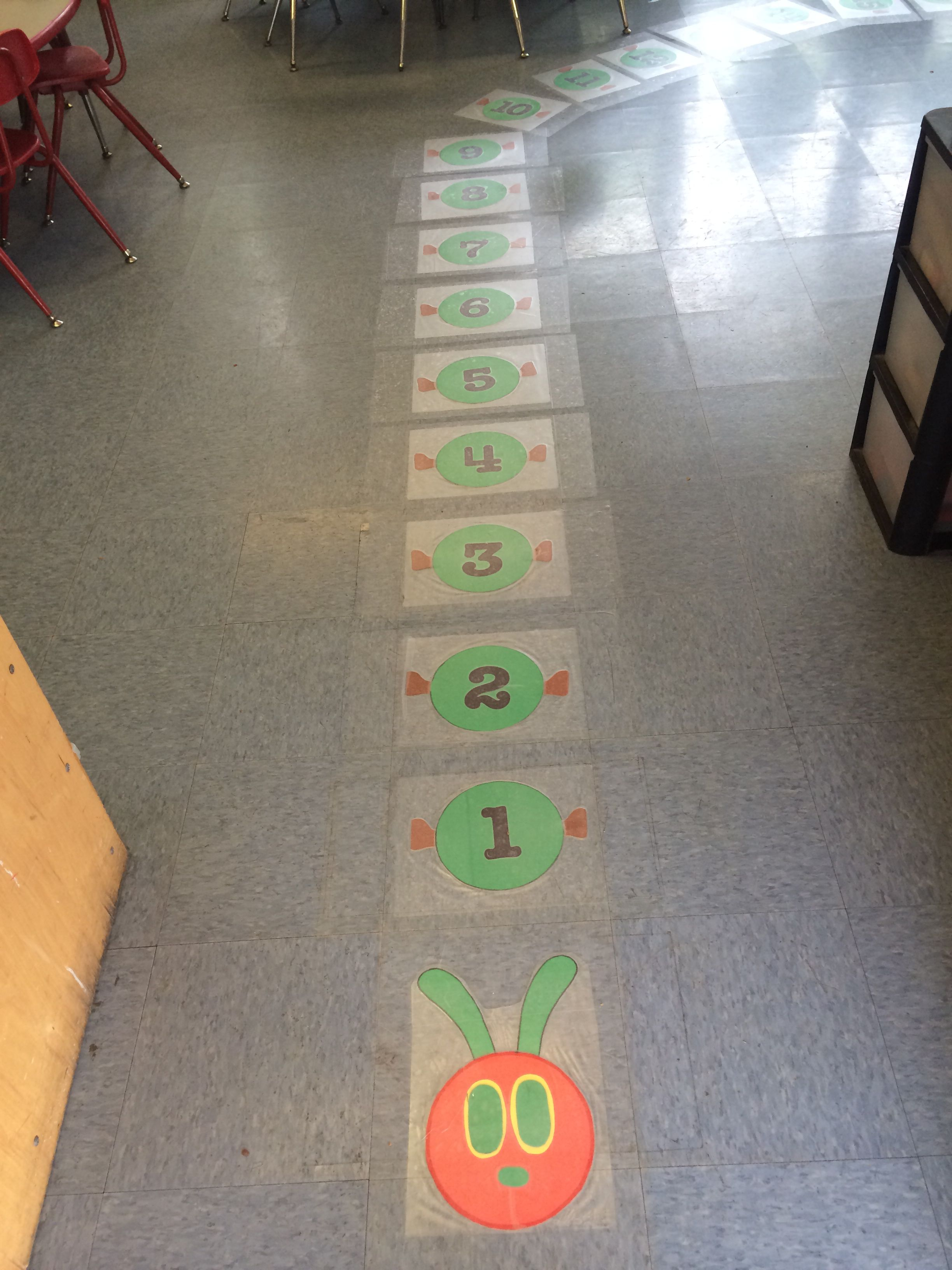 The Very Hungry Caterpillar Theme Fun Way To Help Preschoolers How To Line Up 0