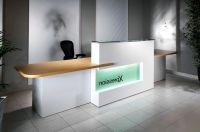Office Front Desk Design | deco | Pinterest | Front desk ...