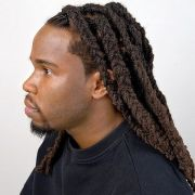 wale dreads braided