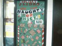 Naughty or Nice PLINKO - Interactive Christmas Door | Door ...