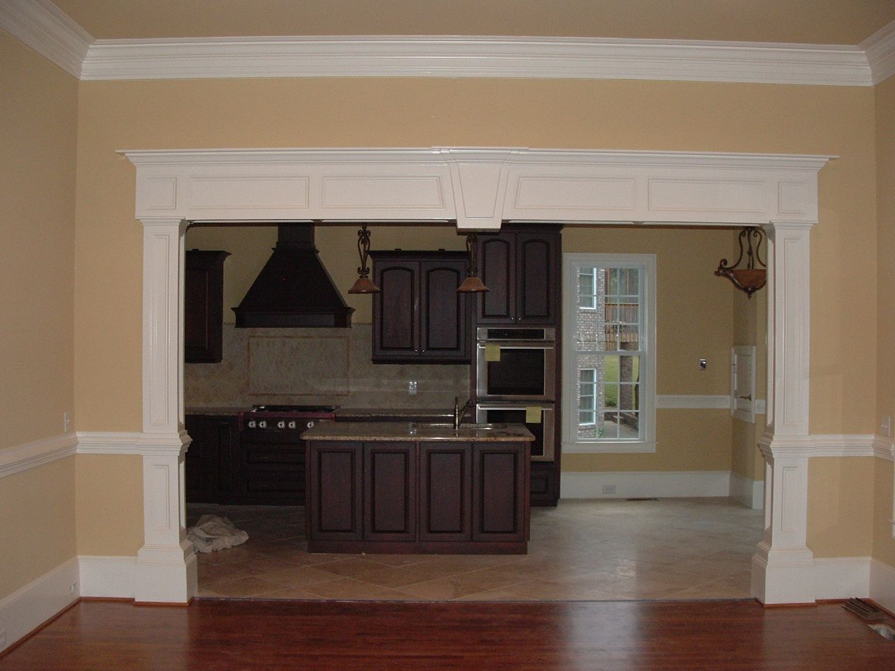 like the boxed moldings on the upper section and the look