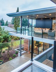 Unique luxurious residence in the large area vivacious view from patio near top floor design also rh pinterest