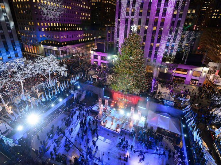 Rockafeller Center Christmas Tree Lighting