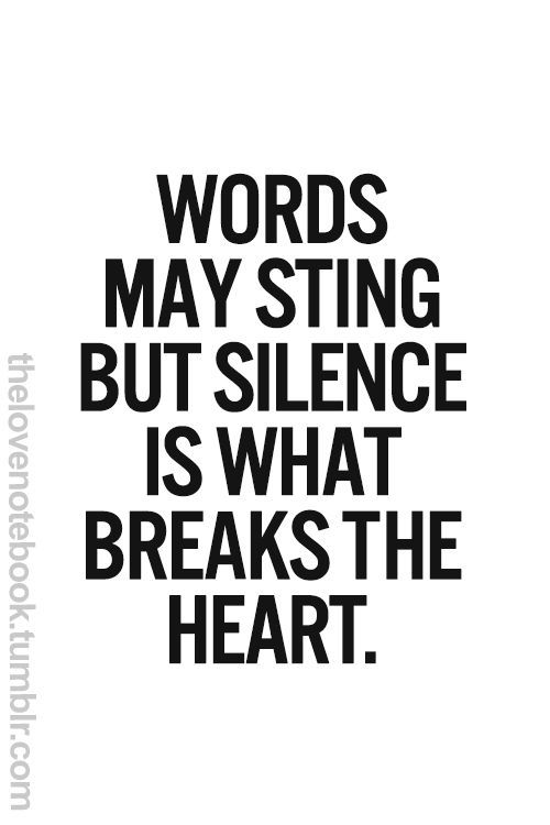 Ignoring Someone You Love Quotes | Love Quotes Everyday