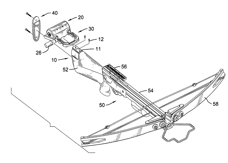 archery bow diagram cub cadet lt1046 wiring crossbow diagrams illustration pinterest