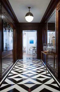 Black & White Marble Floor #flooring tiles, patterns ...