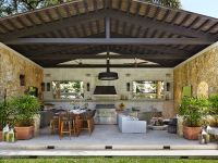 Clearly define your #outdoor kitchen | 13 Timeless Outdoor ...