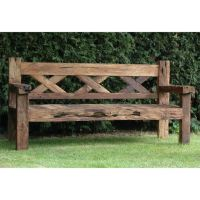 Rustic Outdoor Bench 8 Outdoor Benches by www ...