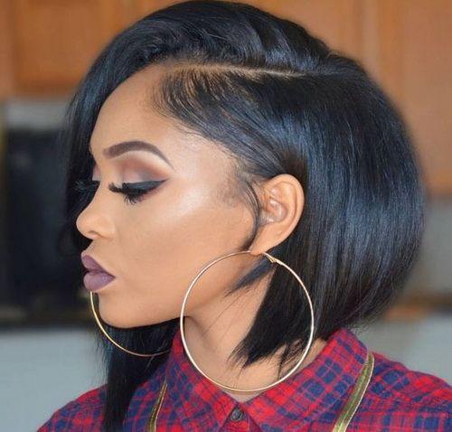 2017 Short Medium Bob Hairstyles For Black Women Hairstyles