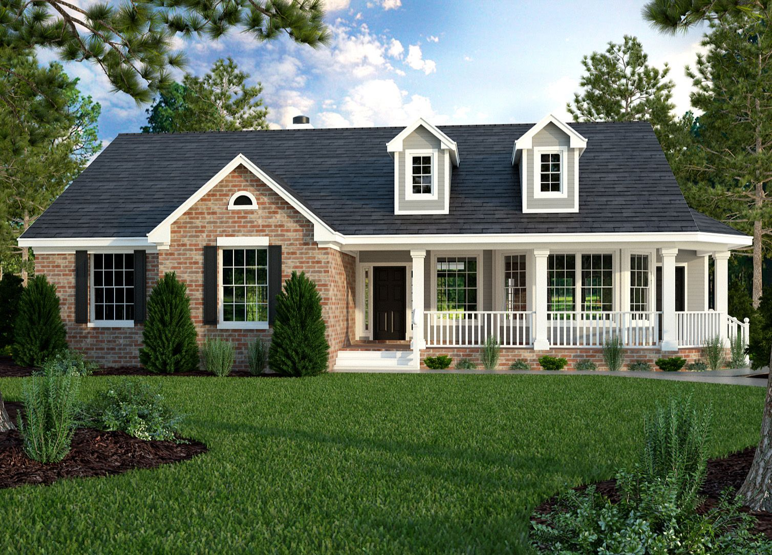 Plan 31093D: Great Little Ranch House Plan
