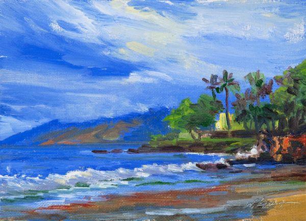 Landscape Oil Paintings Hawaii