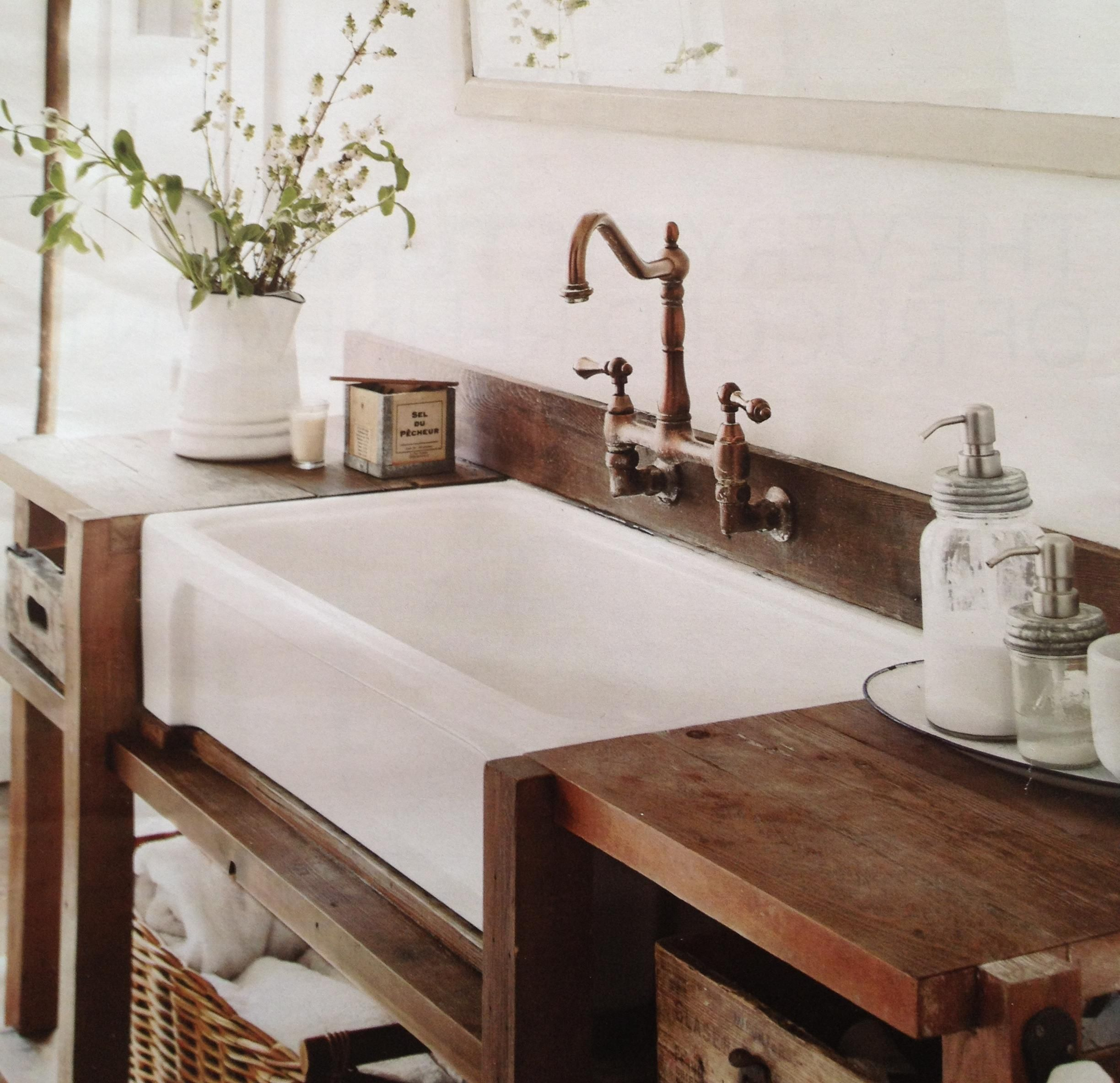 country style kitchen sink buy cabinets online farmhouse bathrooms friday laundry tubs